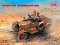Model T 1917 LCP with ANZAC Crew