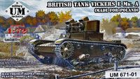 British tank Vickers E Mk. A (made for Poland) - Image 1