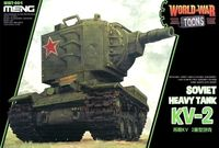 World War Toon Soviet Heavy Tank KV-2 - Image 1