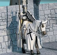 Teutonic Knight Mounted XIV Century