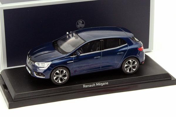 generación a partir de 2015 1//43 norev modelo au Renault megane IV gris plata 5 puertas 4