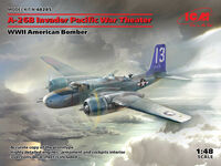 A-26В Invader Pacific War Theater, WWII American Bomber