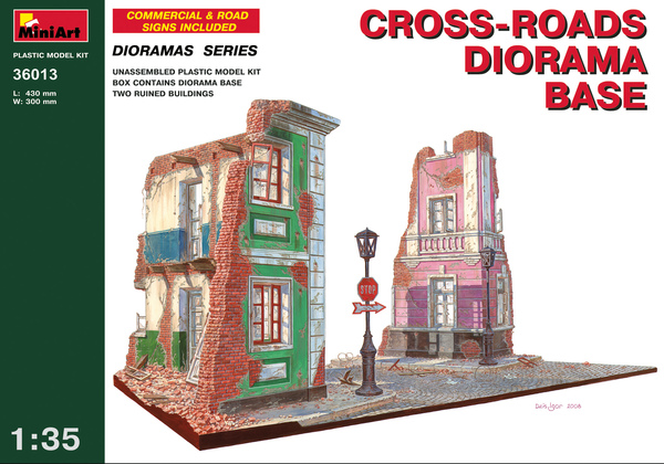 CROSS-ROADS DIORAMA BASE - Image 1