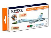 Early Su-27S/P/UB Flanker-B/C paint s