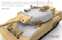Canadian Main Battle Tank Leopard C2 MEXAS Sand-Proof Canvas Cover - Image 1
