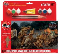 British Infantry (World War II) Multipose Starter Set