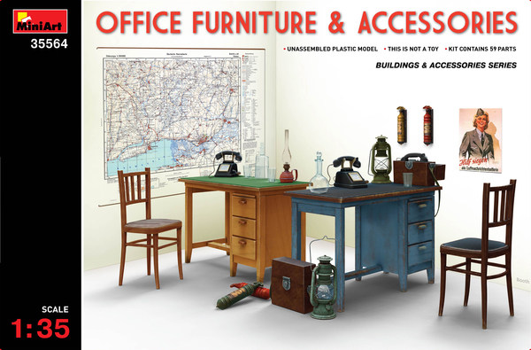 OFFICE FURNITURE  &  ACCESSORIES - Image 1