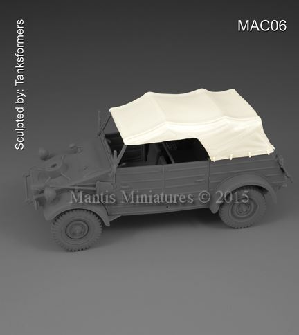 Canvas roof for kubelwagen - Image 1