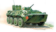 BTR-80 Russian personal carrier