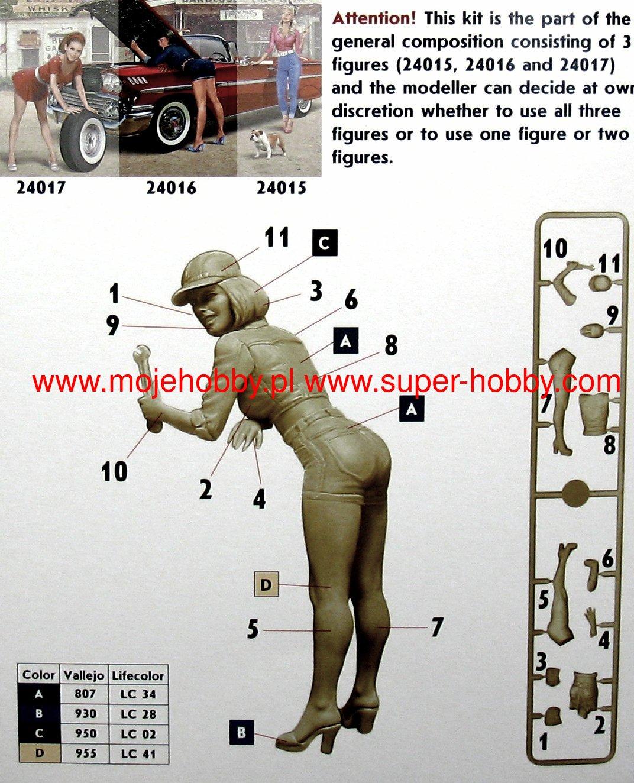 A Short Stop Kit No.2 in 1:24 MASTER BOX™ 24016 Pin-up Series
