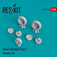 Super Etendard Type 1 wheels set