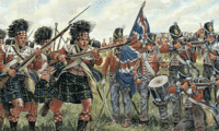 British and Scots Infantry