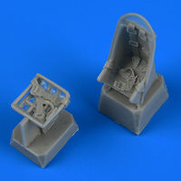 Ju 87 Stuka seats with safety betls seat ZVEZDA/ACADEMY