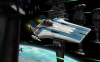 Star War Resistance A-Wing Fighter, B