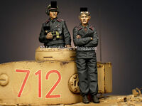 Panzer Commander Set (2 figs)