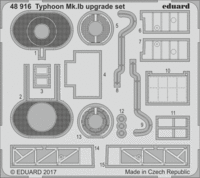 Typhoon Mk.Ib upgrade set EDUARD 1131 - Image 1