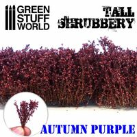Tall Shrubbery - Autumn Purple
