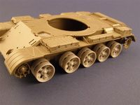 Burn out Wheels for T-55/62 Tanks - Image 1