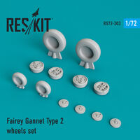 Fairey Gannet Type 2 wheels set