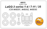 LAGG-3 series 1-4 / 7-11 / 35 (ICM) + wheels masks - Image 1