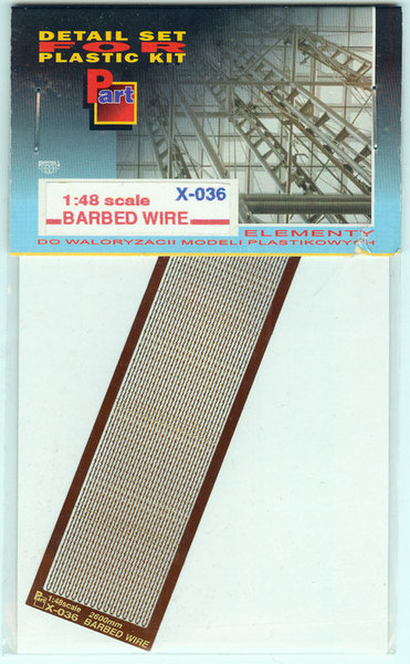 Barbed wire - 1/48 scale - Image 1