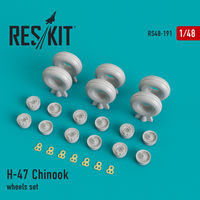 H-47 Chinook wheels set - Image 1