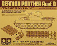 German Panther Ausf.D - Separate track link set - Image 1