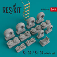 Su-32 / Su-34  wheels set