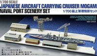 Japanese Aircraft Carrying Cruiser Mogami Naval Port Scenery Set