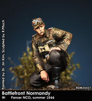 W-SS Panzer NCO, summer 1944 - Battlefront Normandy - Image 1