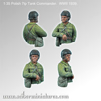 Polish 7TP Tank Commander #1 - Image 1