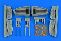 Beaufighter TF.X wheel bay set REVELL - Image 1