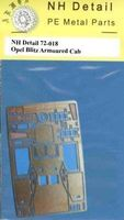 Opel Blitz Armoured Cab Detail Set for MAC - Image 1