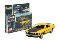 69 Ford Mustang Boss 302 Model Set - Image 1