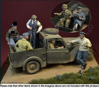 """I shotem down"" Battle of Britain 1940 6 figures set"