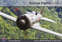 Polikarpov I-16 Russian fighter - 2 kits - metal parts