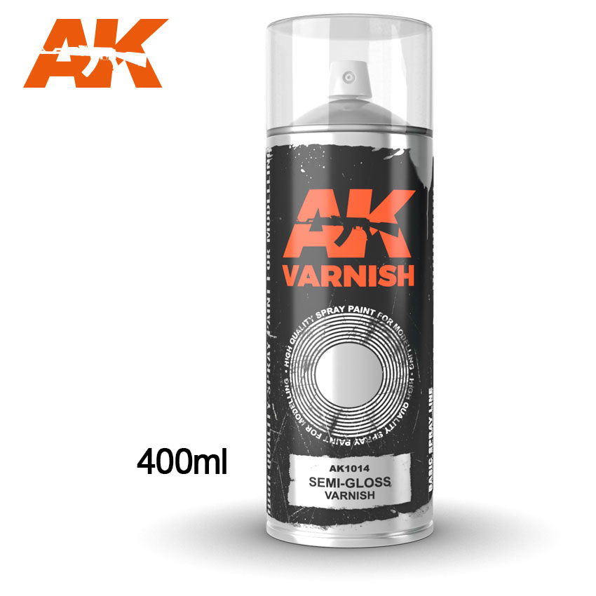 AK1014 SEMI GLOSS VARNISH SPRAY - Image 1