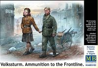 Volkssturm. Ammunition to the Frontline - Image 1