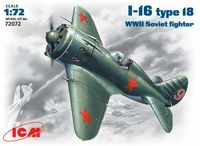 I-16 type18  WWII Soviet fighter