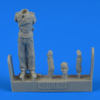 German WWII Tank crew - Trooper D Figurines