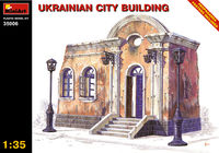 Ruined Ukrainian City Building