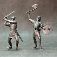 Barbarians, set of two figures #3