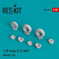 T-28 Trojan (C-D) NAVY wheels set