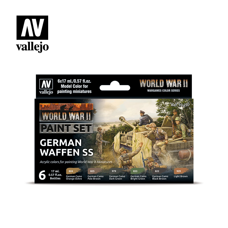 70207 WWII German Waffen SS Set - Image 1