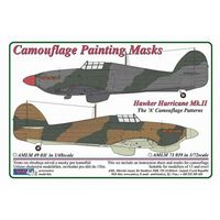 Hawker Hurricane Mk.II - Camouflage Painting Masks - Image 1