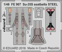 Su-35S seatbelts STEEL  GREAT WALL HOBBY - Image 1