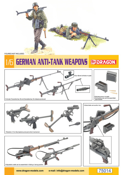 German Anti-Tank Weapons (figures NOT included) - Image 1