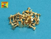 AFV - Turned imitation of Hexagonal bolts 1,75 x 2,20 mm x 25 pcs. - Image 1