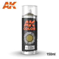 AK1025 OLIVE DRAB COLOR SPRAY