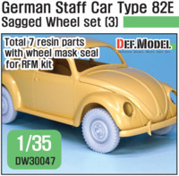 German Staff Car Type 82E Wheel set 03 ( for RFM 1/35)